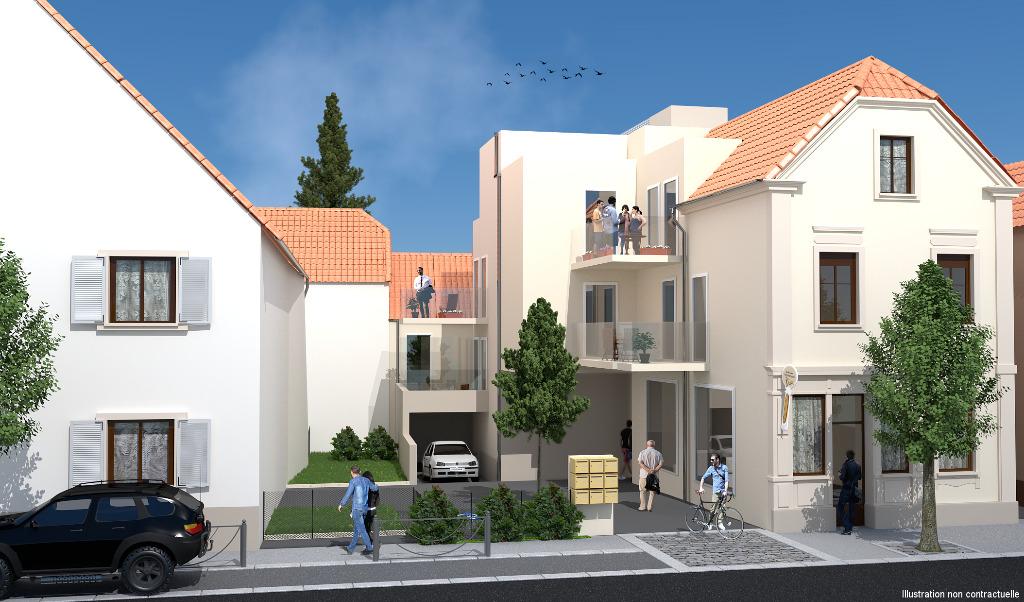 achat vente appartement de 2 pi ces riedisheim 68400 en alsace area immobilier 11gdi. Black Bedroom Furniture Sets. Home Design Ideas